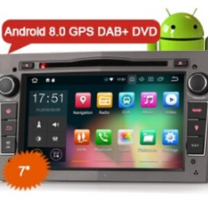 "Erisin ES7860PG 7"" Opel Vauxhall Vextra Astra Corsa Android 8.0 Car Stereo DVD 4G DAB+ GPS Navigator"