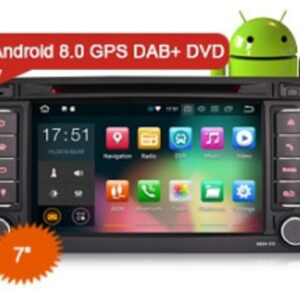 "Erisin ES7856T 7"" HD Car Stereo 8-Core Android 8.0 DVD GPS SAT NAV Wifi 4G DAB+ DTV-IN DVR for VW TOUAREG"