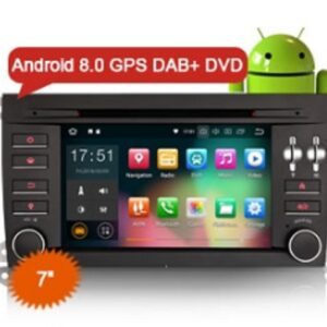 "Erisin ES7897S 8-Core 7"" Android 8.0 Car Stereo System DVD GPS Navi DAB+ Wifi 4G for Porsche Cayenne"